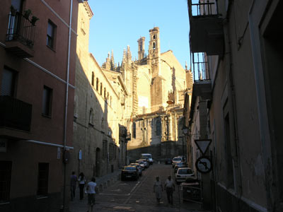 Old town at Plasencia