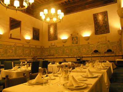 Parador at Plasencia